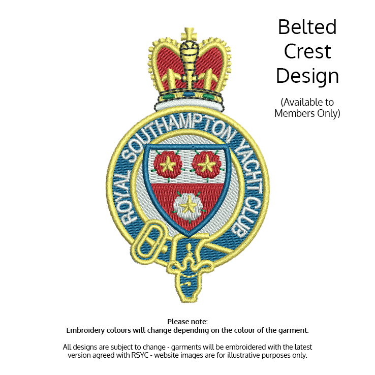 View products with Belted Crest Logo Embroidered - (Members Only)