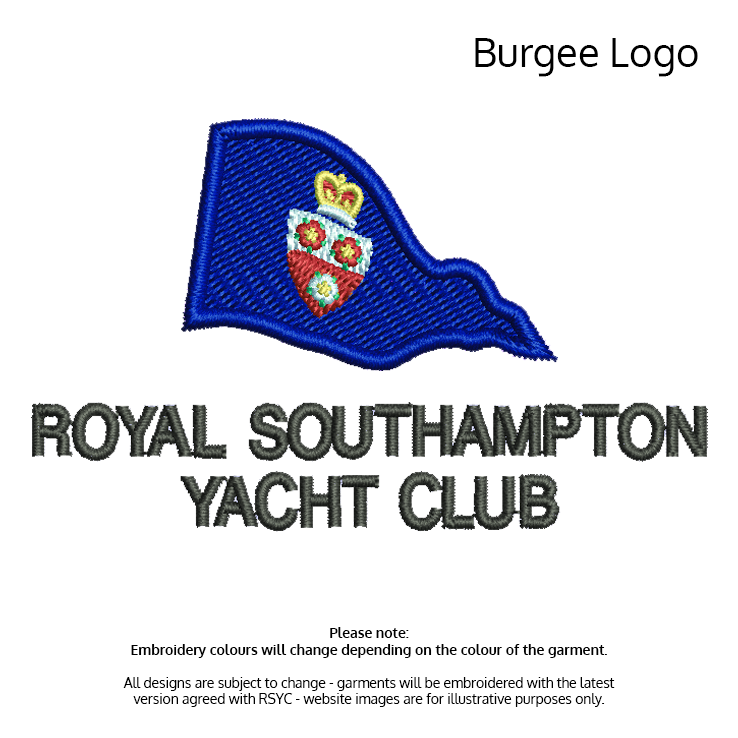 View products with Burgee Logo Embroidered